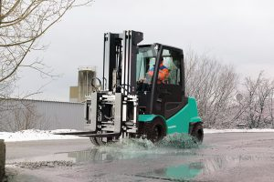 Winter Forklift