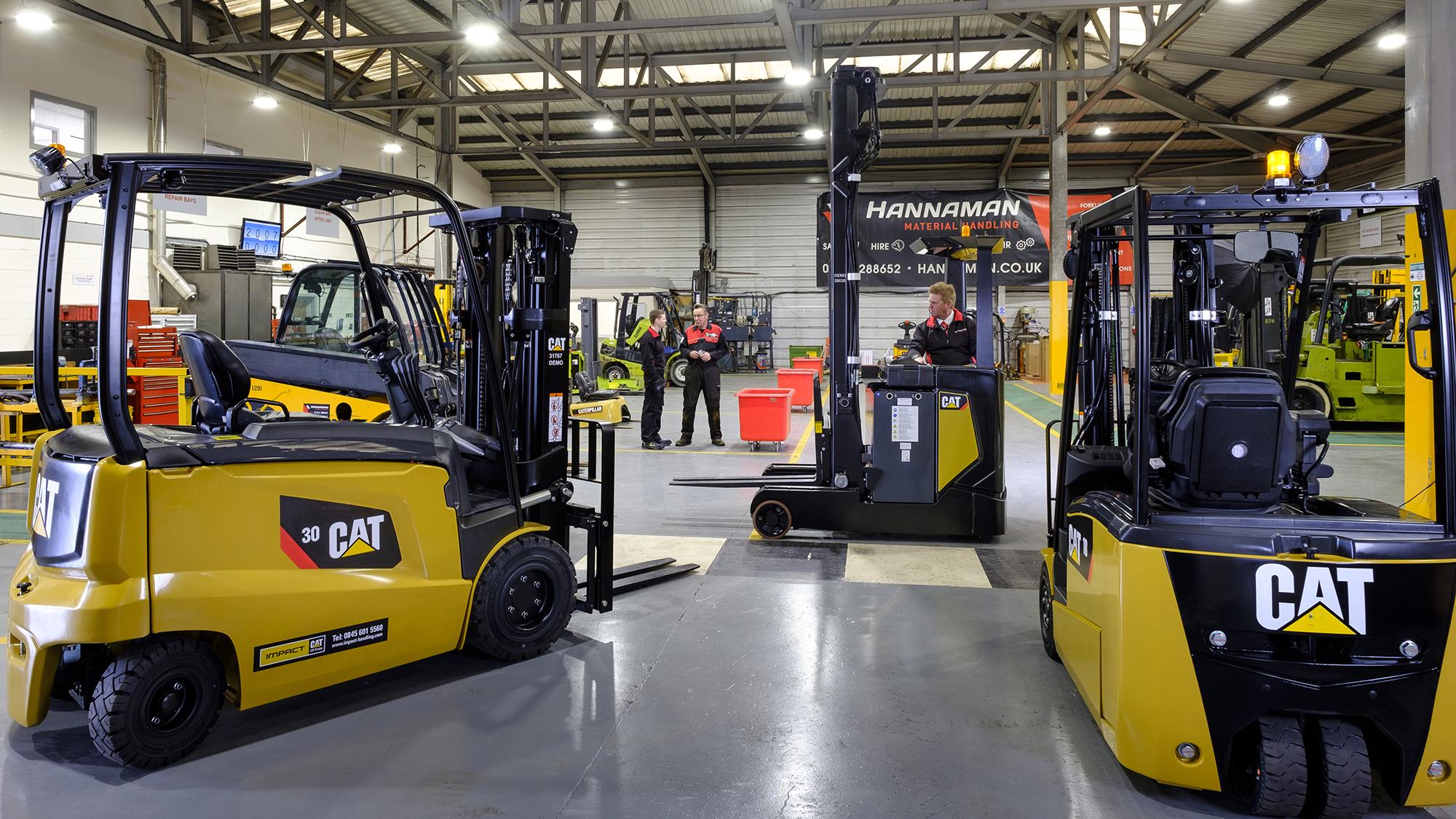 Hannaman Material Handling - Forklift Trucks & Operator Training